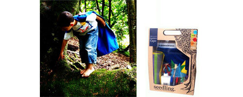 Seedling Superhero DIY cape Kit