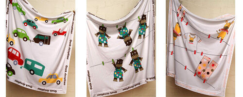 Ouch Sleepytime Baby Wraps from Zero Plus Designs