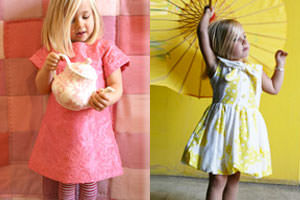 Dresses for little girls by Chalk n Cheese