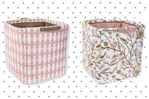 Storage tubs by DwellStudio
