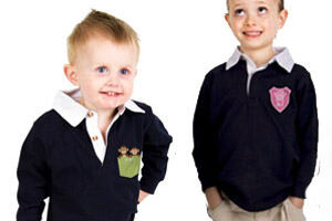 Tinyme Personalised Rugby Tops