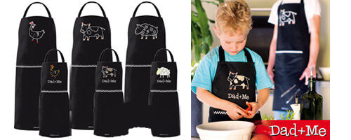 Ogilvies Designs Dad and Me apron sets from La Toriana