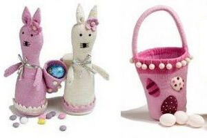 En Gry & Sif Easter baskets and bunnies