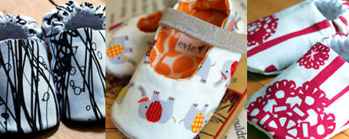 Handcrafted baby shoes from evie lala