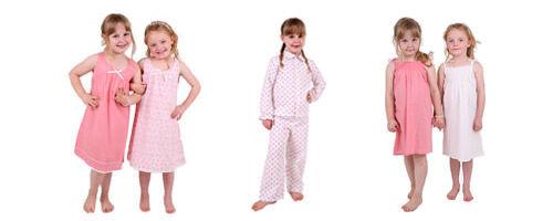 Cornflowerblue organic sleepwear