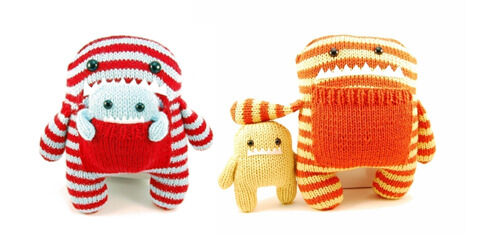 Cambodia Knits 'Daphne and Delilah' available from Brindabella Baby