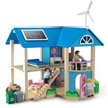 Wonderworld Eco Dollhouse from Quirky Kids