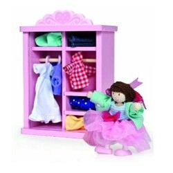Le Toy Van Rosebud Dolly Dress Up available from Lily & Percy