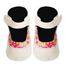 Liberty Fabric baby shoes by Cheeky Little Soles