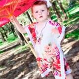 Summer girls' kaftans from Kaftan Kids