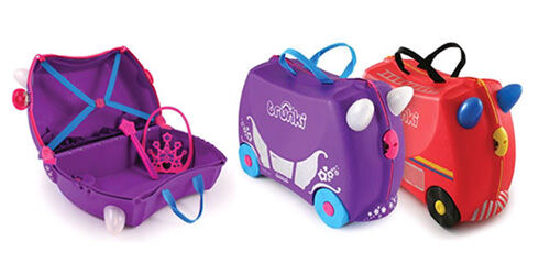 New Trunki limited edition kids' suitcases