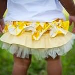 Ruffled bloomers from Angel & Ivory
