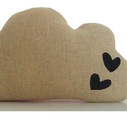 Cloud cushion by Poppy & Ted