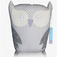 Jolie Petite Chose limited edition grey owl cushion