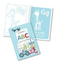 Personalised learning books from Stuck On You