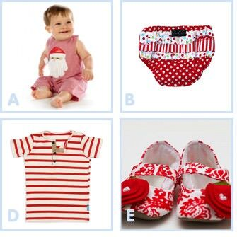 Cheery Christmas outfits for kids