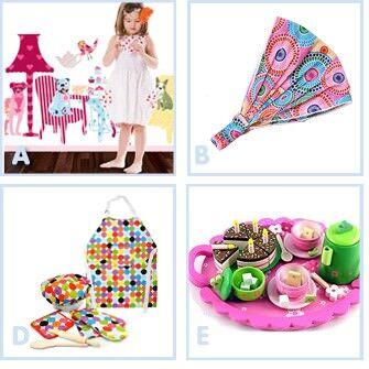 Christmas gift guide - toddler girls
