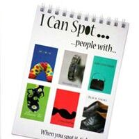 'I can spot' booklets from beyond pink and blue