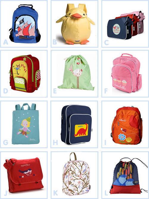 Back to school: bags & backpacks