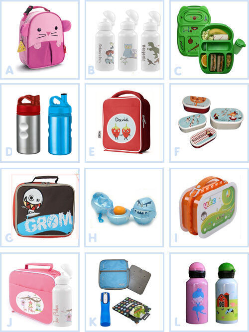 Back to school - lunch boxes and drink bottles