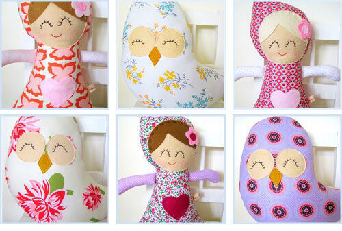Cuckoo For Coco dolls and owls