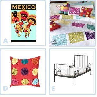 Dream room: Mexico girl