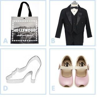 Hollywood glam kids outfits