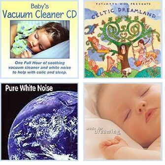 Baby relaxation and white noise CDs