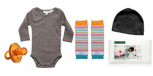 Organic newborn outfit