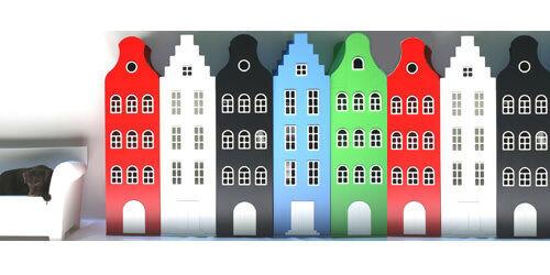 Dutch canal house cabinets by Kast van een Huis