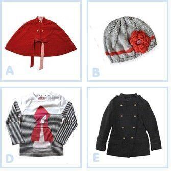 Mix n Match fashion: Little Red Riding Hood
