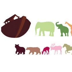 Noah's Ark wall decals from BoscoBear