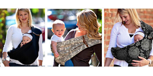 1b9c2bfbd08 Peanut Shell adjustable baby sling