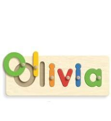 Mooo personalised wooden puzzles