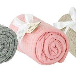 Babu merino wide rib baby blankets