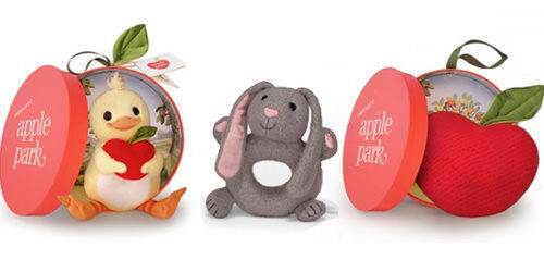 Apple Park baby toys and teethers