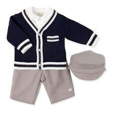 Emile et Rose three-piece boys' outfits