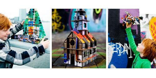 KidsOnRoof 'Totem' construction kits