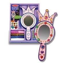Melisssa & Doug Decorate your own wooden princess mirror