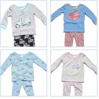 Milky winter pyjamas