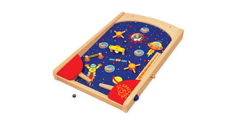 Im Toys wooden space pinball