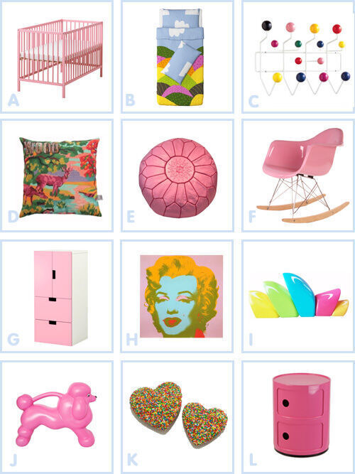 Dream room: pink POP!