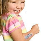 SafetyTats temporary identification tattoos