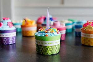 Cupcake wrappers for food allergies