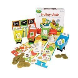 Chimp and Zee Trolley Dash board game