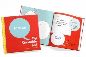 Book to record the funny things kids say