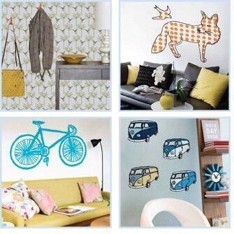 Curio & Curio wall stickers and removable wallpaper