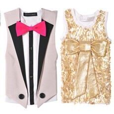 Designer customised singlets for Sydney Children's Hospital Gold Week