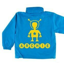 Simply Colors personalised rain jackets