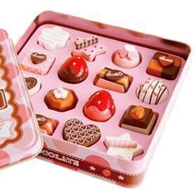 Mother Garden wooden toy chocolates
